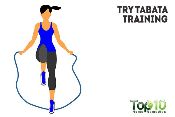 try tabata training