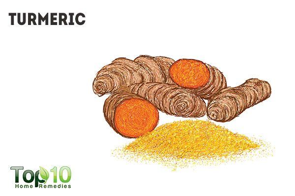 turmeric for chest acne