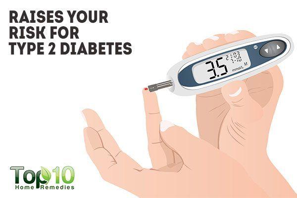 sugar raises your risk for type 2 diabetes