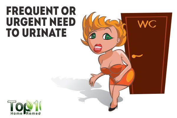 frequent or urgent need to urinate