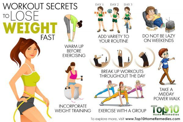 workout secrets for weight loss