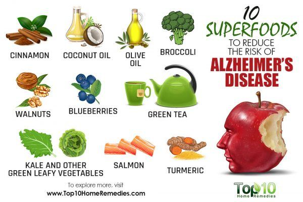 superfoods for alzheimer's disease