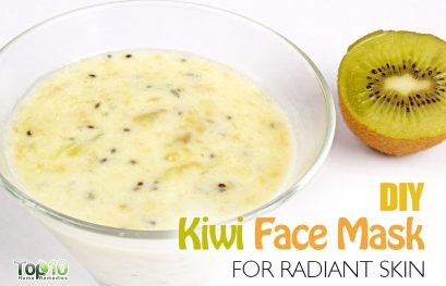 DIY Skin Brightening Kiwi Face Mask