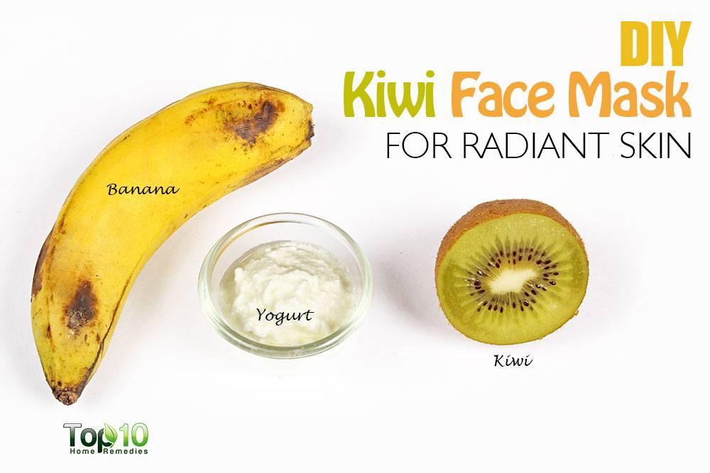 DIY Skin Brightening Kiwi Face Mask | Desi Akhbar