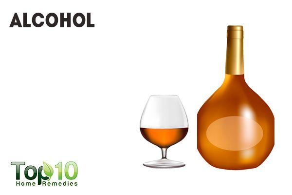 alcohol causes inflammation