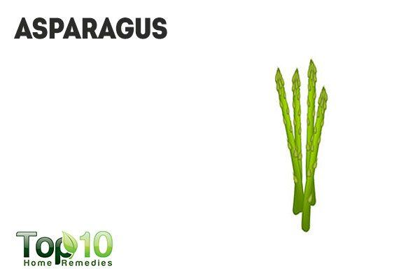 asparagus causes body odor and bad breath