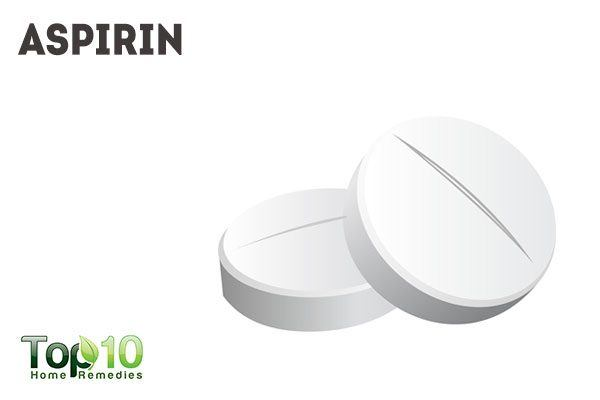 aspirin to reduce pimple redness