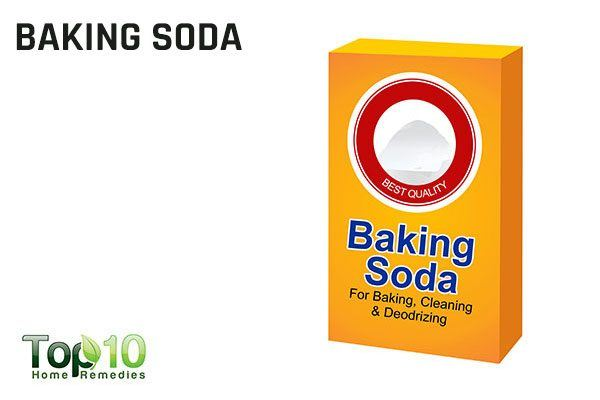 baking soda to get rid of splinters