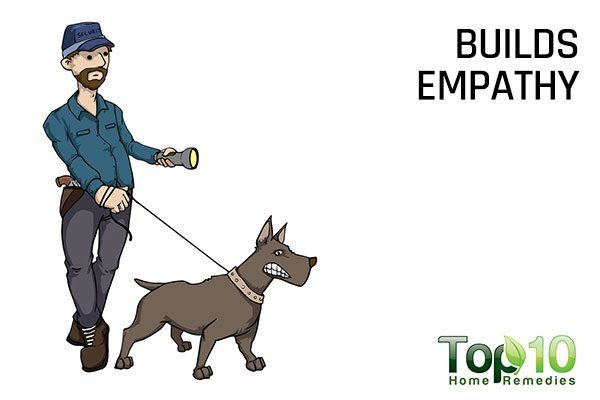 dogs build empathy
