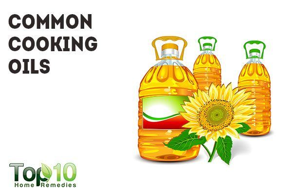 common cooking oils cause inflammation