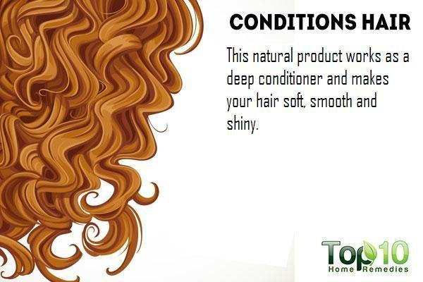 yogurt  conditions your hair