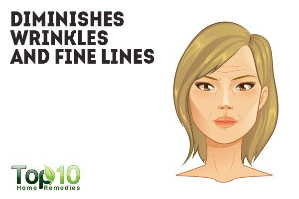 banana peel diminishes wrinkles and fine lines