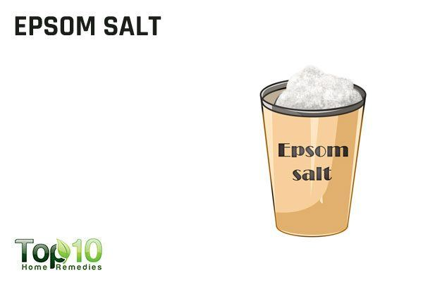 epsom salt to remove splinters