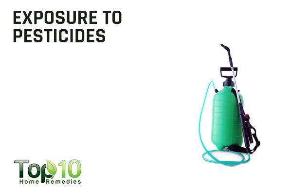 exposure to pesticides causes menstrual irregularities