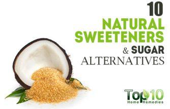 10 Natural Sweeteners & Sugar Alternatives
