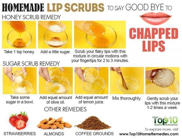 homemade lip scrub recipes