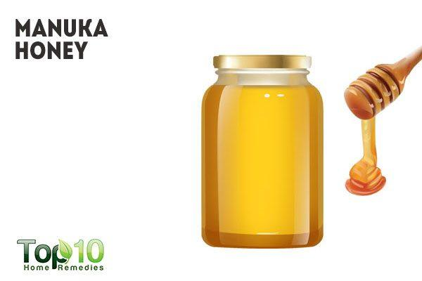 manuka honey for pimple redness