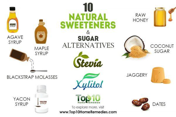 10 natural sweeteners and sugar alternatives