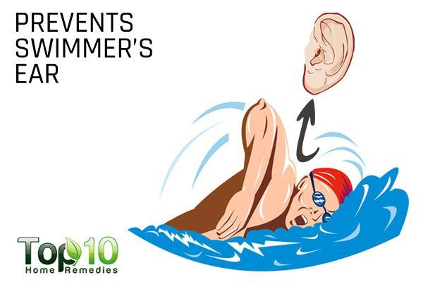 rubbing alcohol prevents swimmers ears