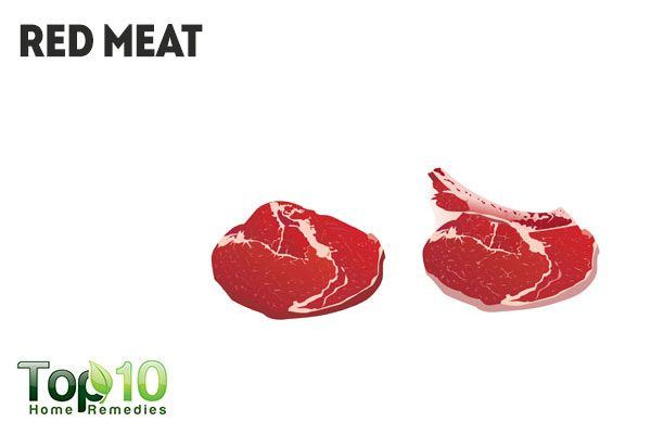 red meat causes body odor and bad breath
