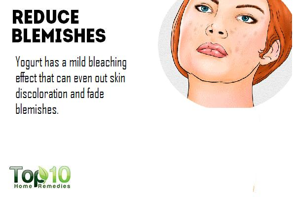 how to clear blemishes naturally