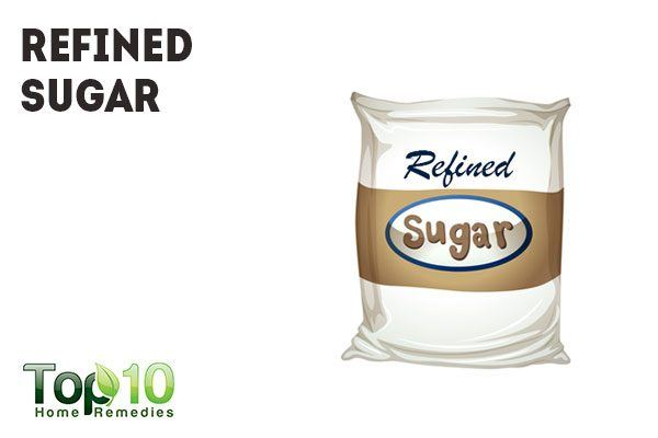 refined sugar promotes inflammation