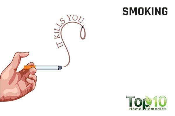 smoking contributes to irregular menstrual cycles