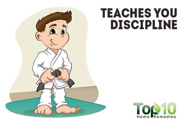 self defense teaches you discipline