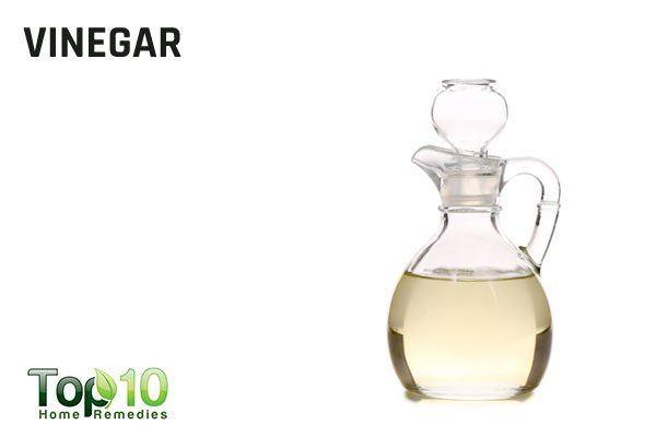 white vinegar for splinters