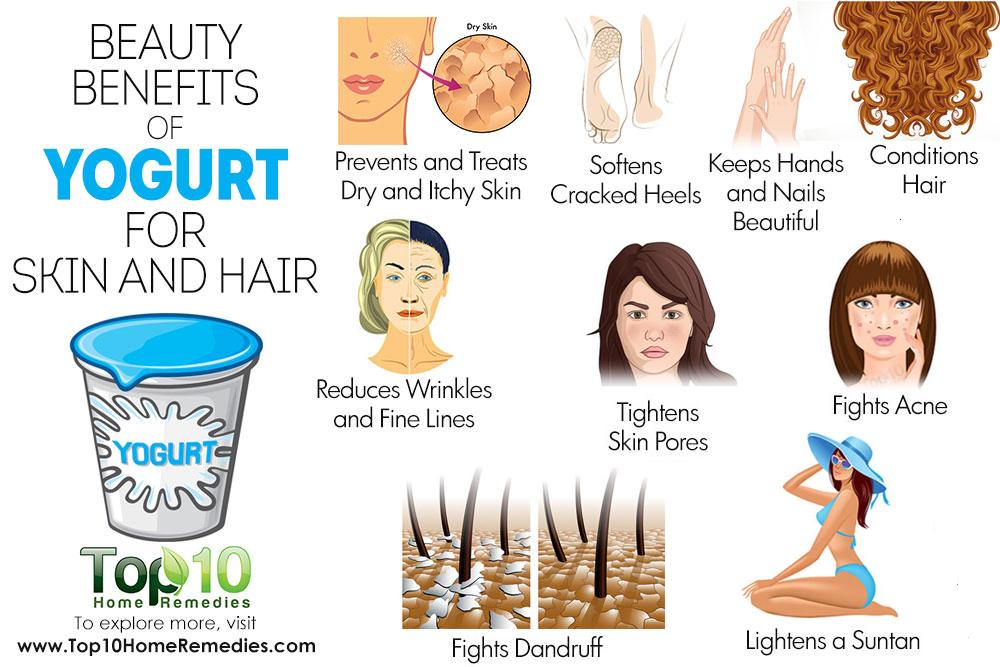 10 Beauty Benefits of Yogurt for Skin and Hair | Top 10 ...