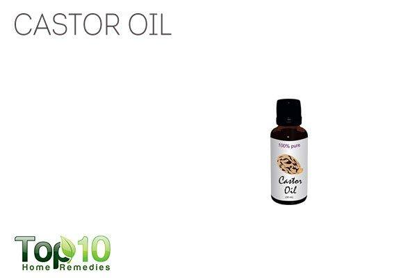 castor oil for healthy feet