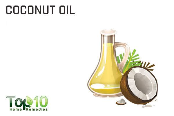 coconut oil to lubricate dry eyes