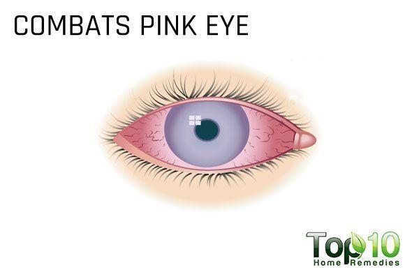 combats pink eye
