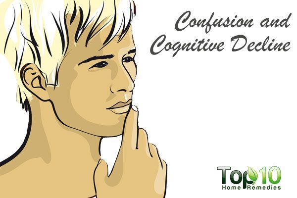 confusion and cognitive decline