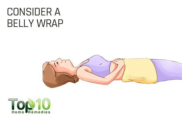 use a belly wrap to lose baby weight post pregnancy