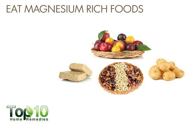 eat magnesium rich foods to prevent low bone mineral density