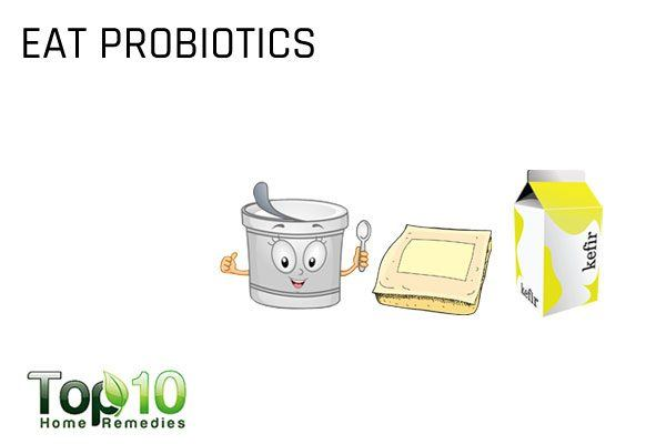 eat probiotics to heal your gut