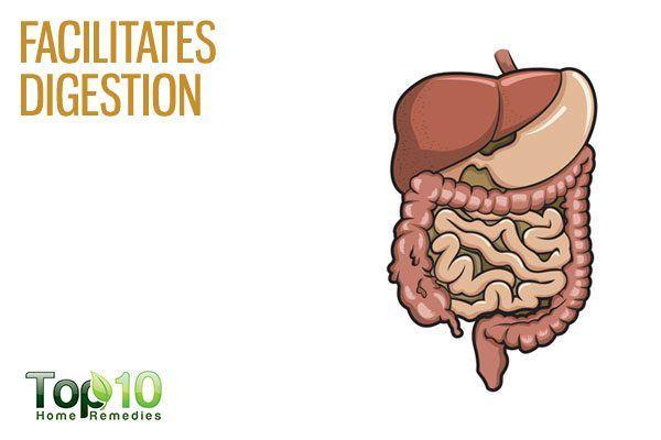 amaranth facilitates digestion