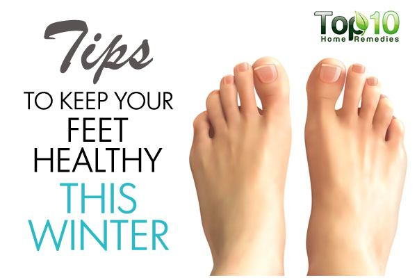 10 Tips to Keep Your Feet Healthy This Winter