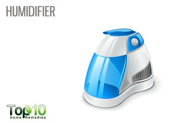 use humidifier for stuffy nose
