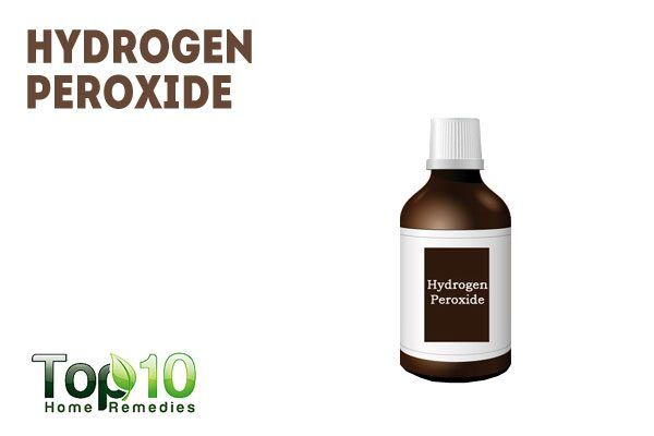 use hydrogen peroxide to get rid of genital herpes