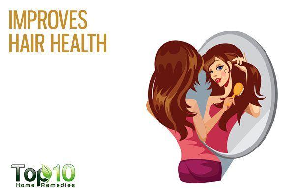 amaranth improves hair health