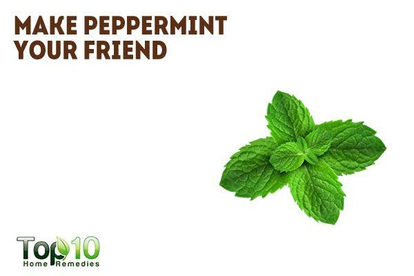 use peppermint to beat caffeine addiction