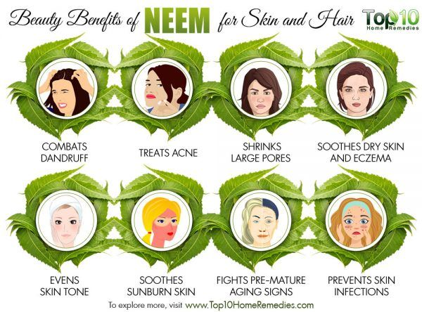 10 beauty benefits of neem for skin and hair