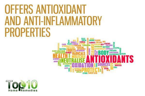 amaranth contains antioxidants