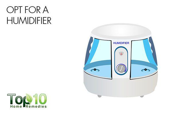 opt for a humidifier