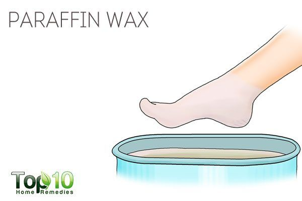 paraffin wax for cracked feet