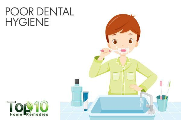 poor dental hygiene causes bad breath