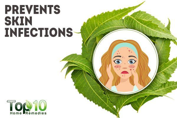 neem prevents skin infection