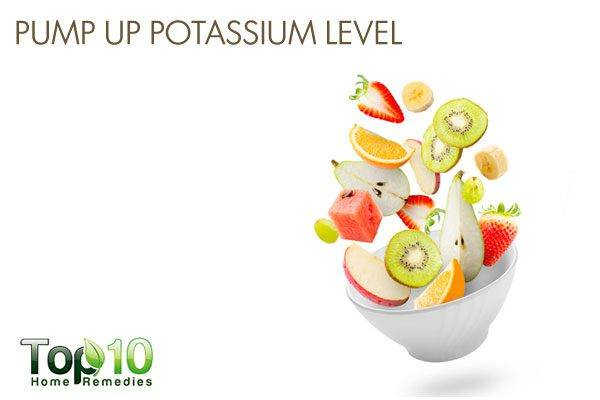 pump up your potassium level to prevent low bone mineral density